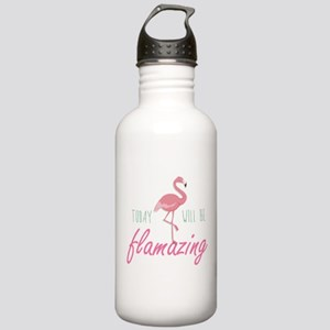 Today Will Be Flamazing Stainless Water Bottle 1.0