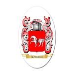 Beraldini 35x21 Oval Wall Decal