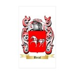 Beral Sticker (Rectangle 50 pk)