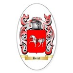 Beral Sticker (Oval 50 pk)