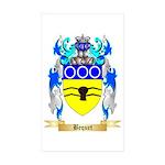 Bequet Sticker (Rectangle 50 pk)