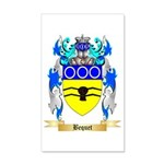 Bequet 35x21 Wall Decal