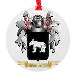 Benyamini Round Ornament