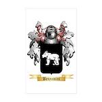 Benyamini Sticker (Rectangle 50 pk)