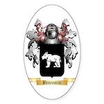 Benyamini Sticker (Oval)