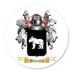 Benyamin Round Car Magnet