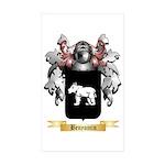Benyamin Sticker (Rectangle 50 pk)