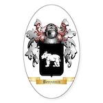 Benyamin Sticker (Oval)