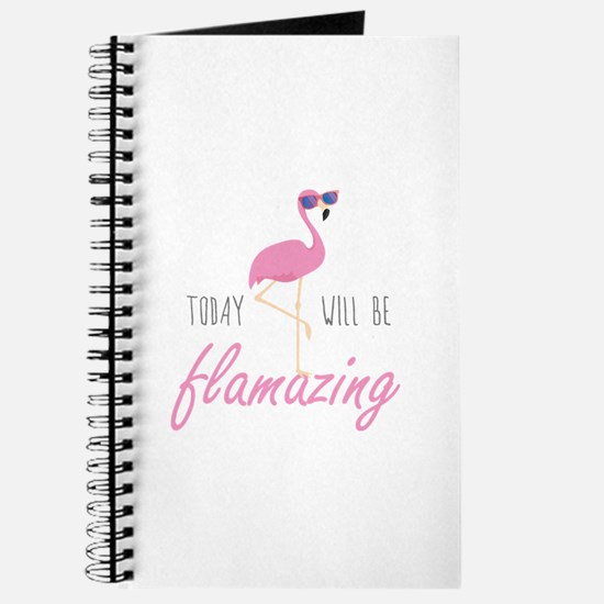 Today Will Be Flamazing Journal