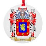 Bentz Round Ornament