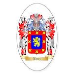 Bentz Sticker (Oval 50 pk)