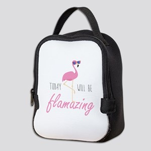 Today Will Be Flamazing Neoprene Lunch Bag