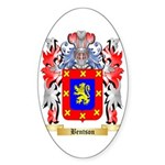 Bentson Sticker (Oval 10 pk)