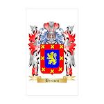 Bentsen Sticker (Rectangle 50 pk)