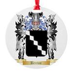 Benton Round Ornament