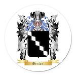 Benton Round Car Magnet