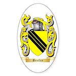 Bentley Sticker (Oval 50 pk)