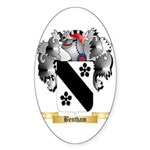 Bentham Sticker (Oval 50 pk)