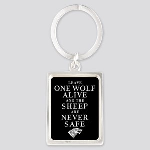 GOT Leave One Wolf Alive Keychains