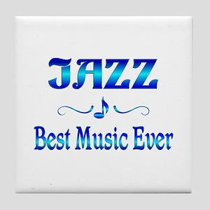 Jazz Best Music Tile Coaster