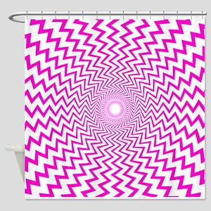 Hot Pink Op Art