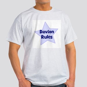 Davion Rules Ash Grey T-Shirt