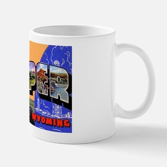 Casper Wyoming Greetings Mug