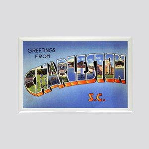 Charleston South Carolina Greetings Rectangle Magn