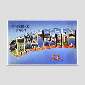 Charleston South Carolina Greetings Mini Poster Pr