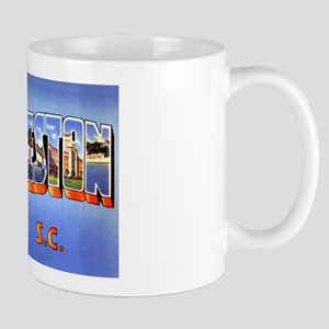 Charleston South Carolina Greetings Mug