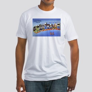 Charleston South Carolina Greetings (Front) Fitted