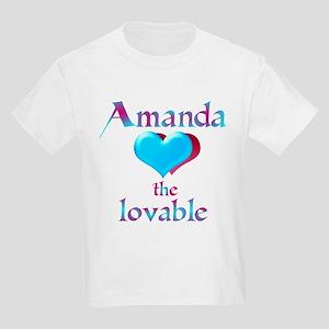 Amanda the lovable Kids T-Shirt