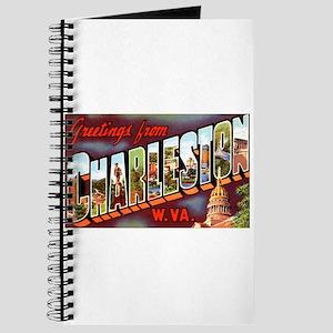 Charleston West Virginia Greetings Journal