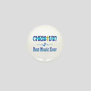 Christian Best Music Mini Button