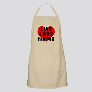 Live Love Hiking Apron