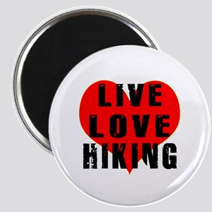 Live Love Hiking Magnet