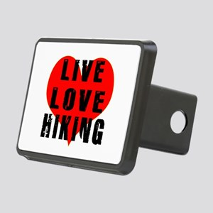 Live Love Hiking Rectangular Hitch Cover