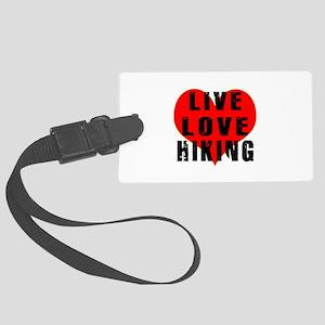 Live Love Hiking Large Luggage Tag