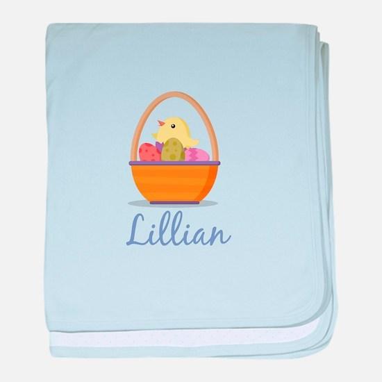 Easter Basket Lillian baby blanket