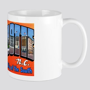 Charlotte North Carolina Greetings Mug