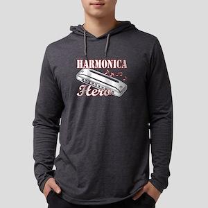 HARMONICA HERO TEE SHIRT Mens Hooded Shirt