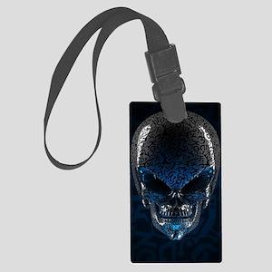 Alien Skull Large Luggage Tag