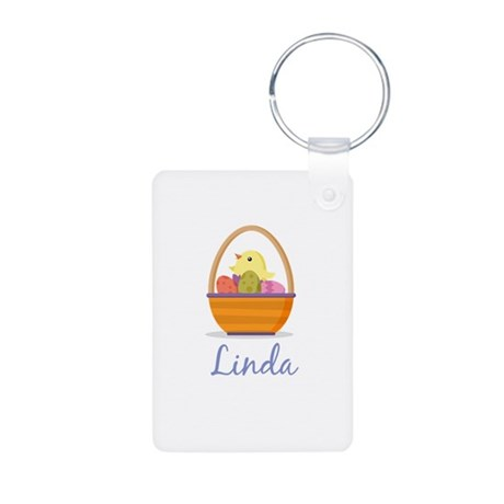 Easter Basket Linda Keychains