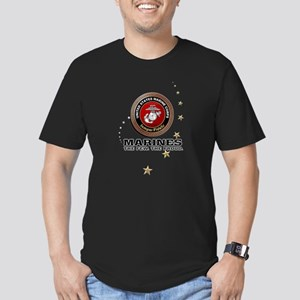 USMC: Men's Fitted T-Shirt (dark)