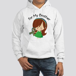 Autism For My Brother Hooded Sweatshirt