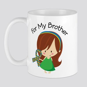 Autism For My Brother Mug