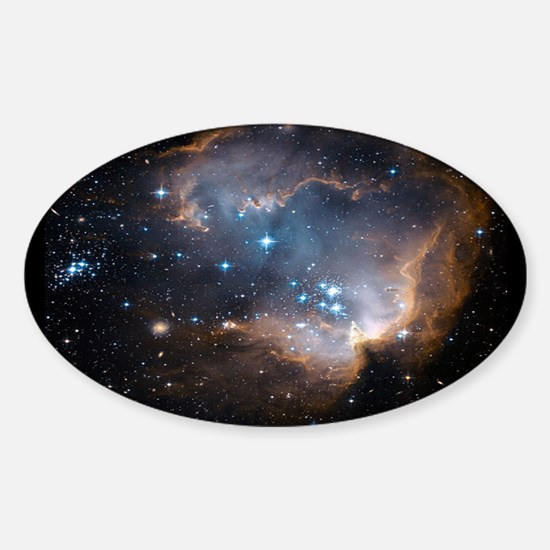 Sleeping Angel Star Cluster Decal