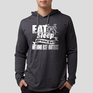 EAT SLEEP DRUM SET SHIRT Mens Hooded Shirt