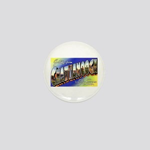 Chattanooga Tennessee Greetings Mini Button