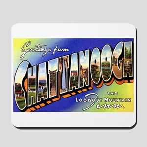 Chattanooga Tennessee Greetings Mousepad